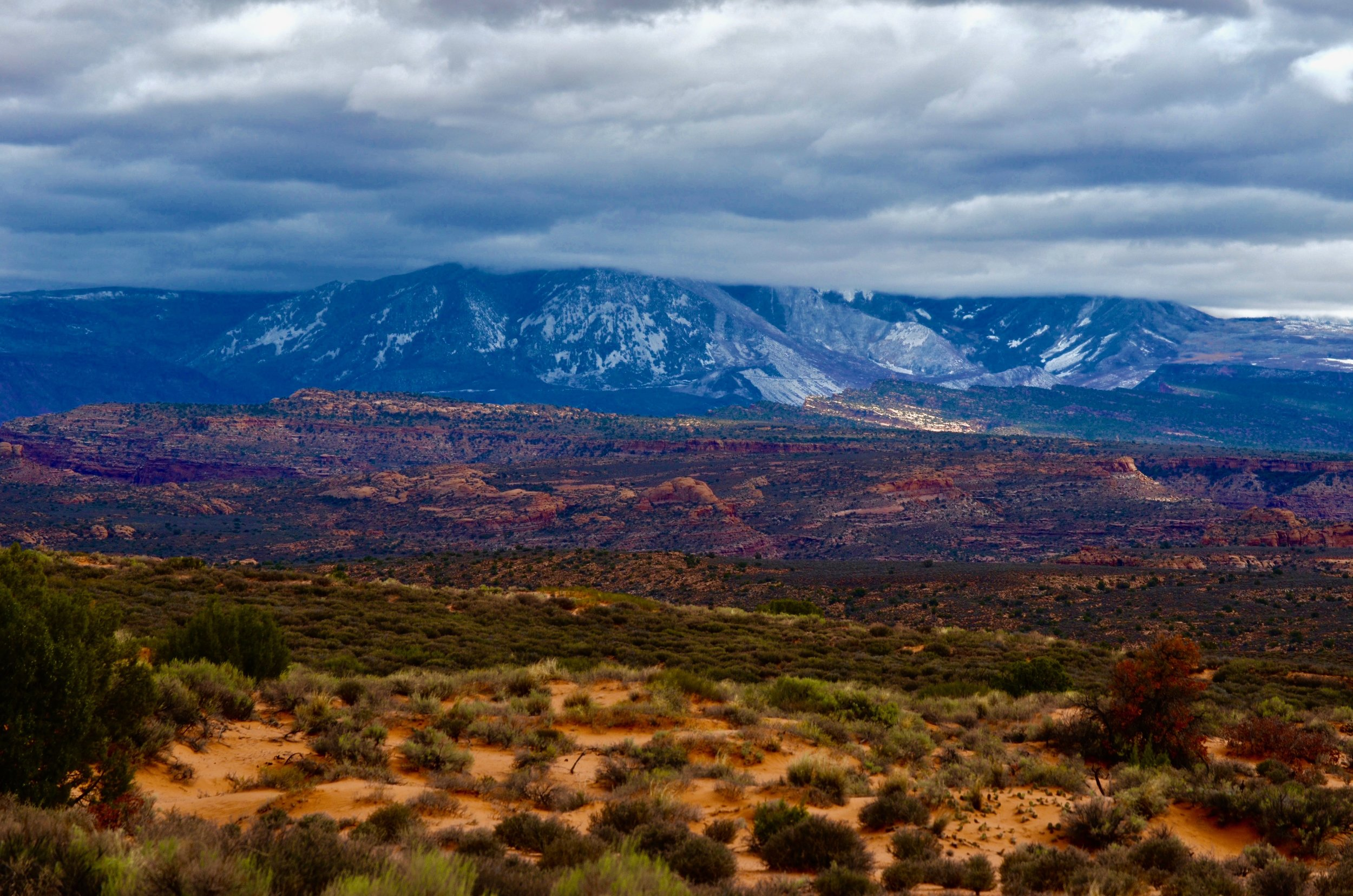 Panorama Point, Arches National Park, Utah