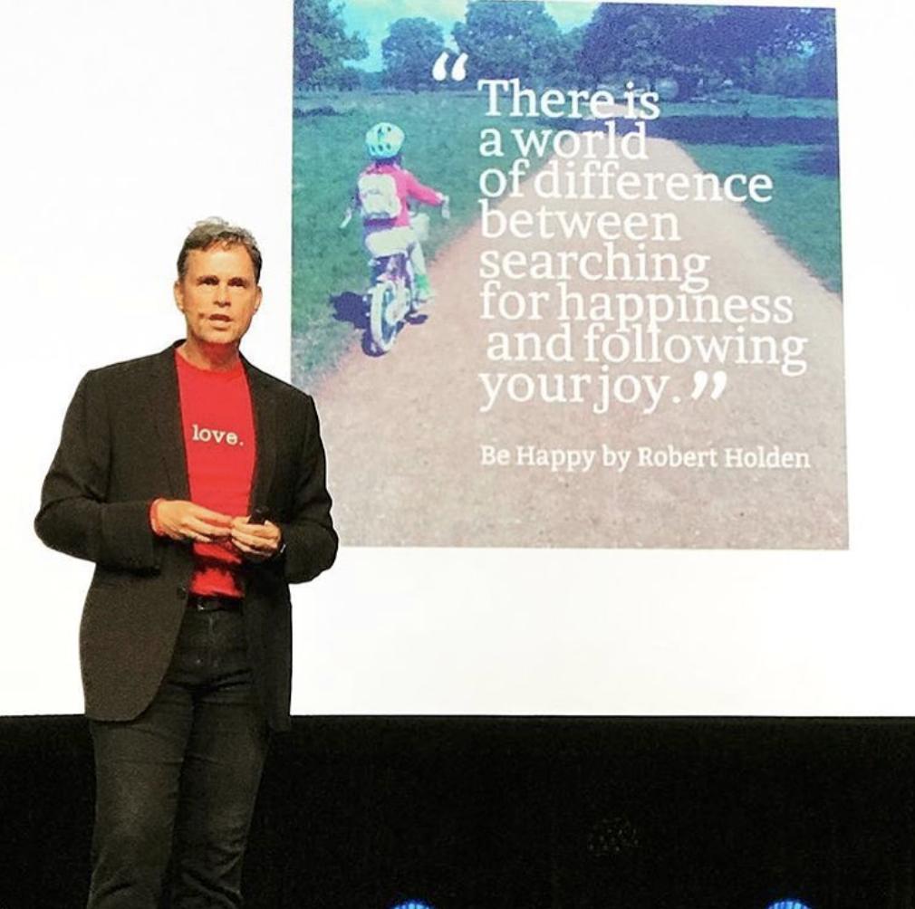 Idea World 2018 Keynote Speaker Robert Holden
