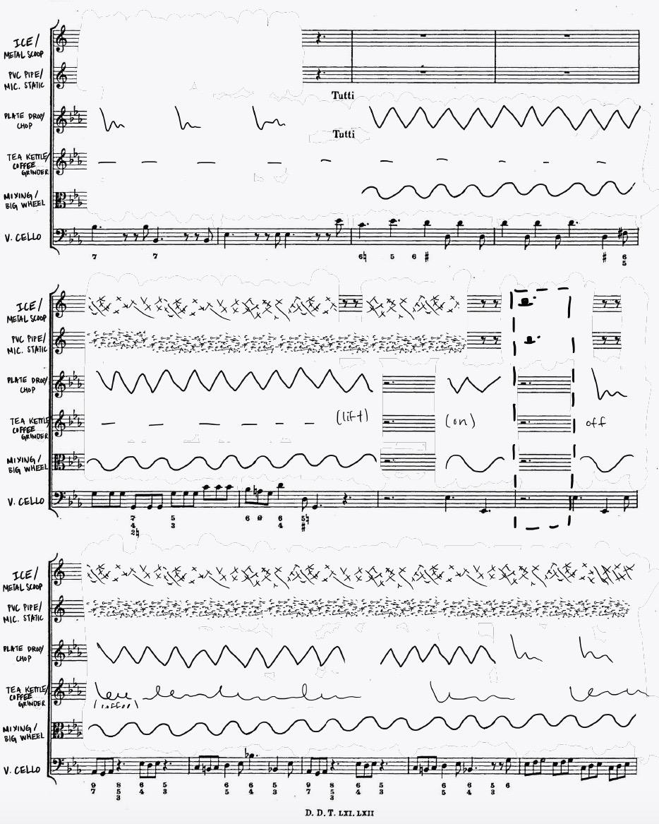 Score  by Clare Monfredo