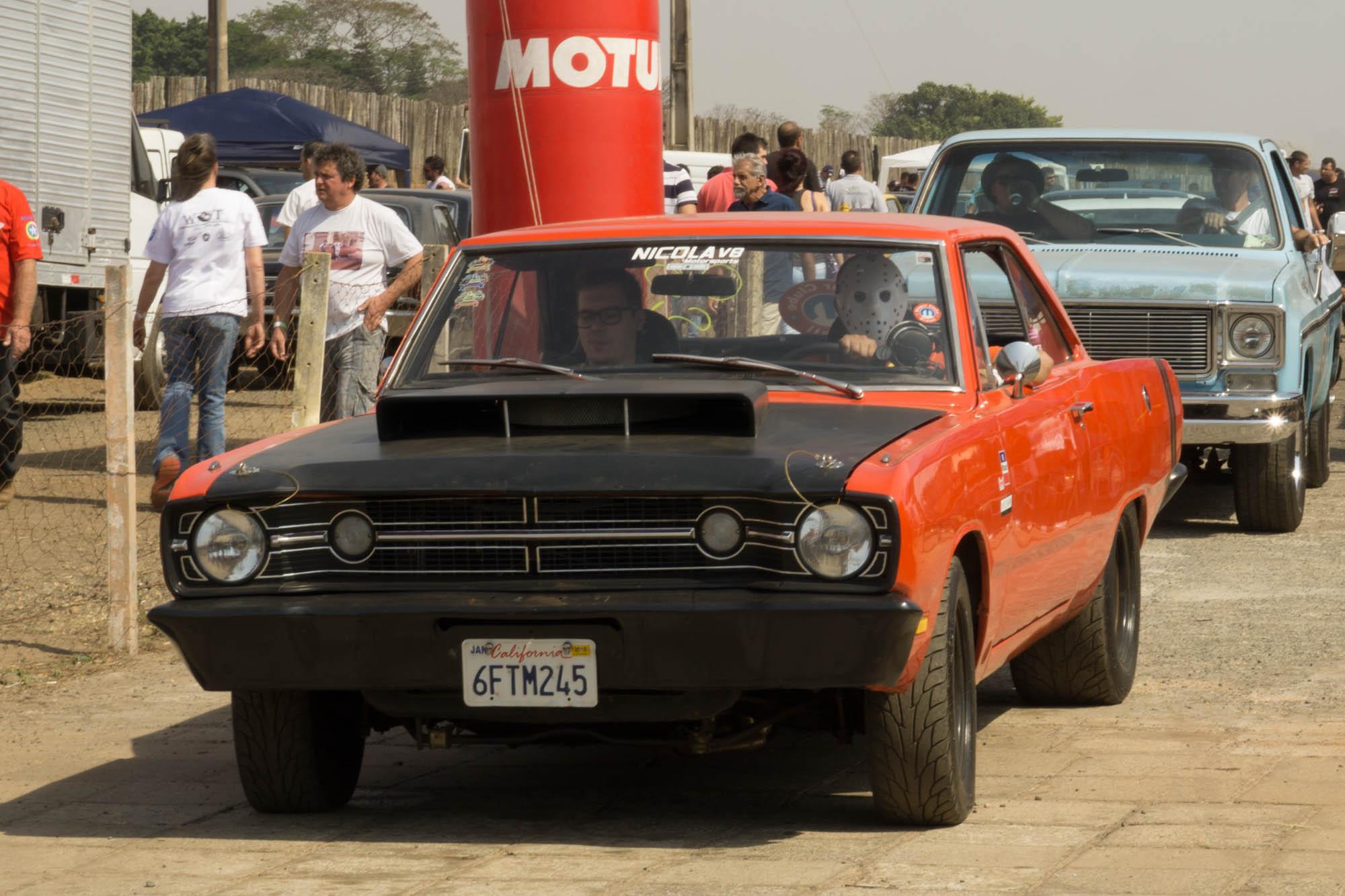 Jason Vorhees Driving Muscle Car