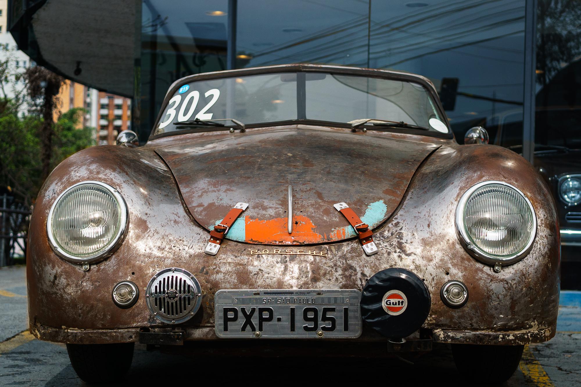 Porsche 356 front