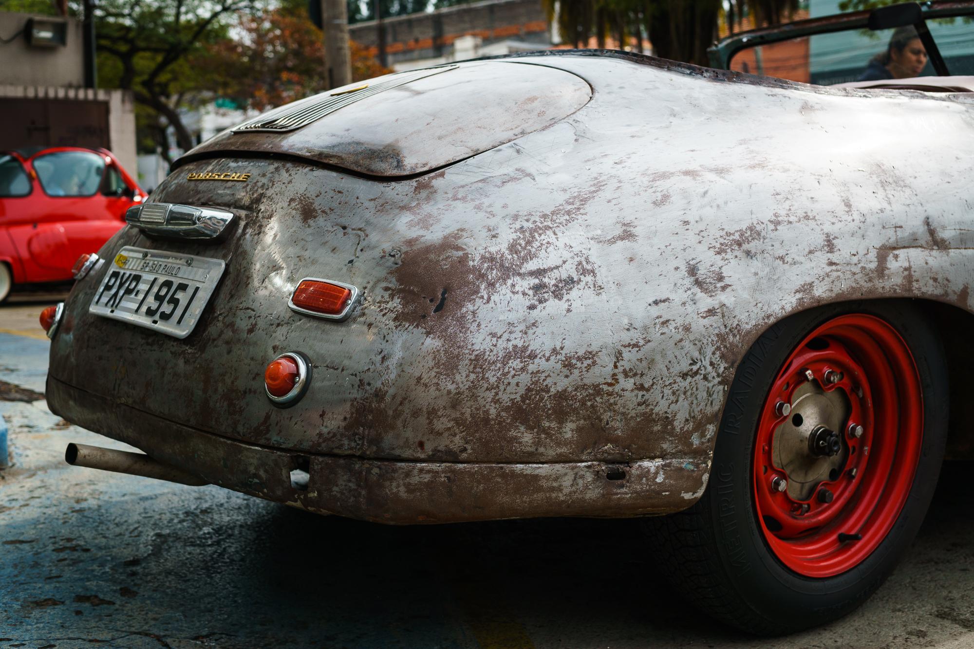 Porsche 356 rear bumper