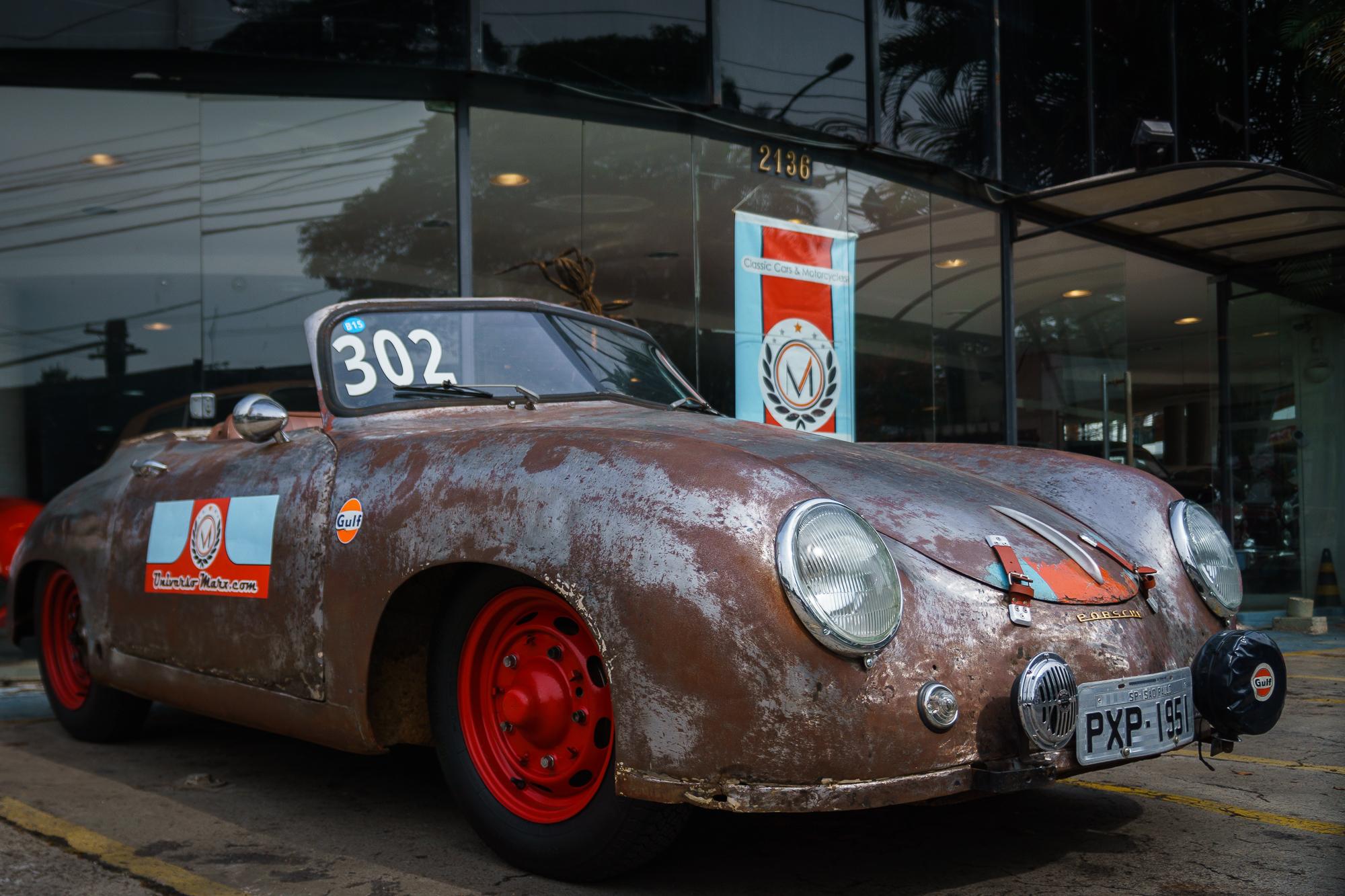 Porsche 356 diagonal