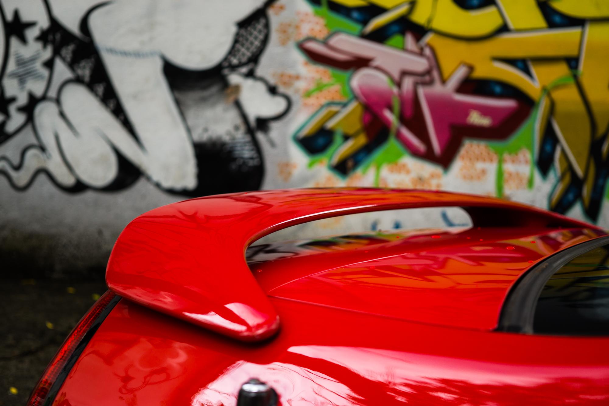 Prelude rear spoiler stock