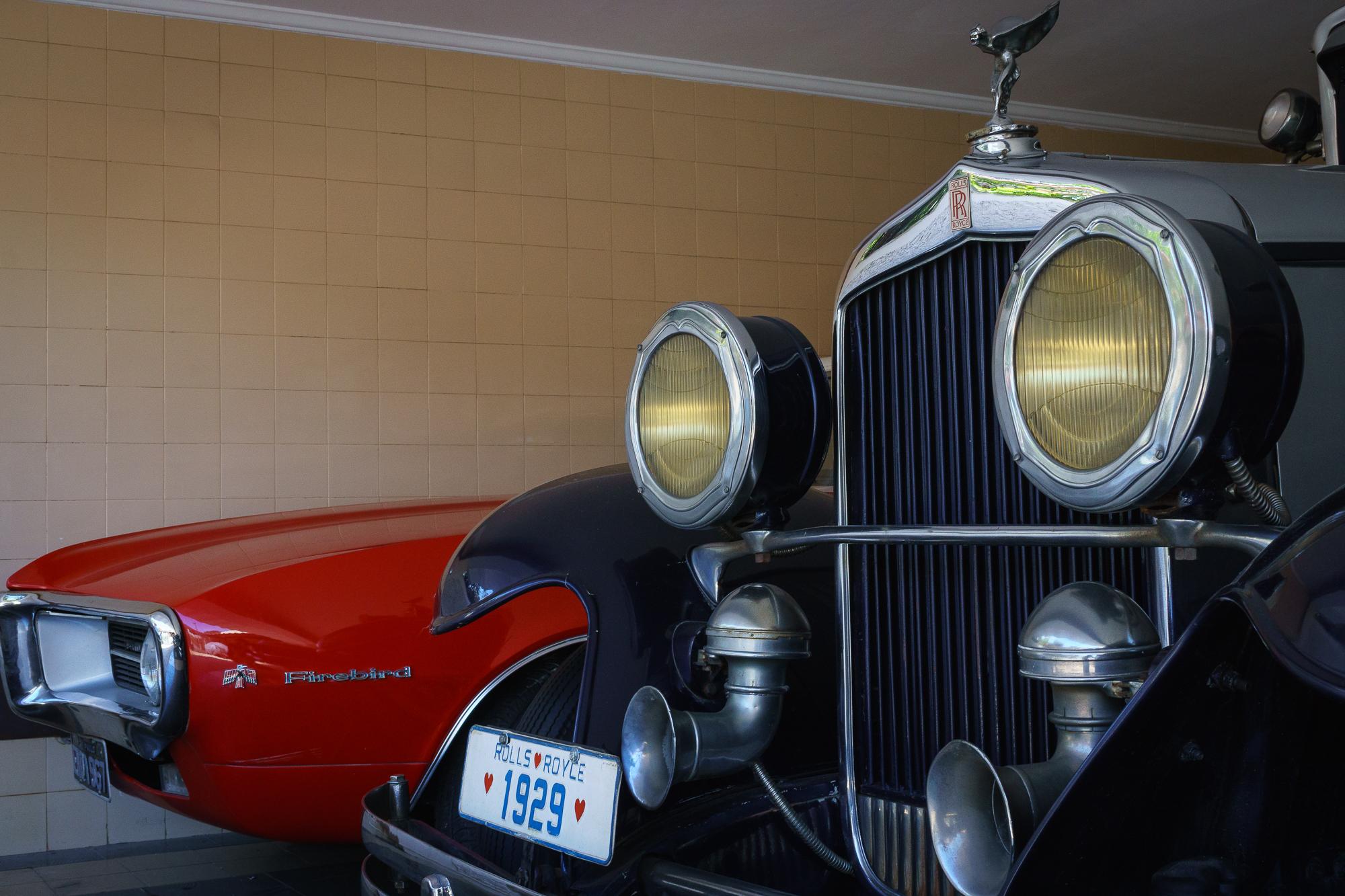 Rolls Royce and Firebird