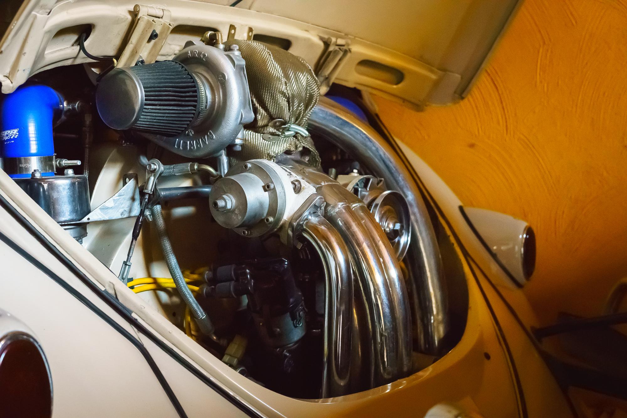 Turbocharged classic Beetle