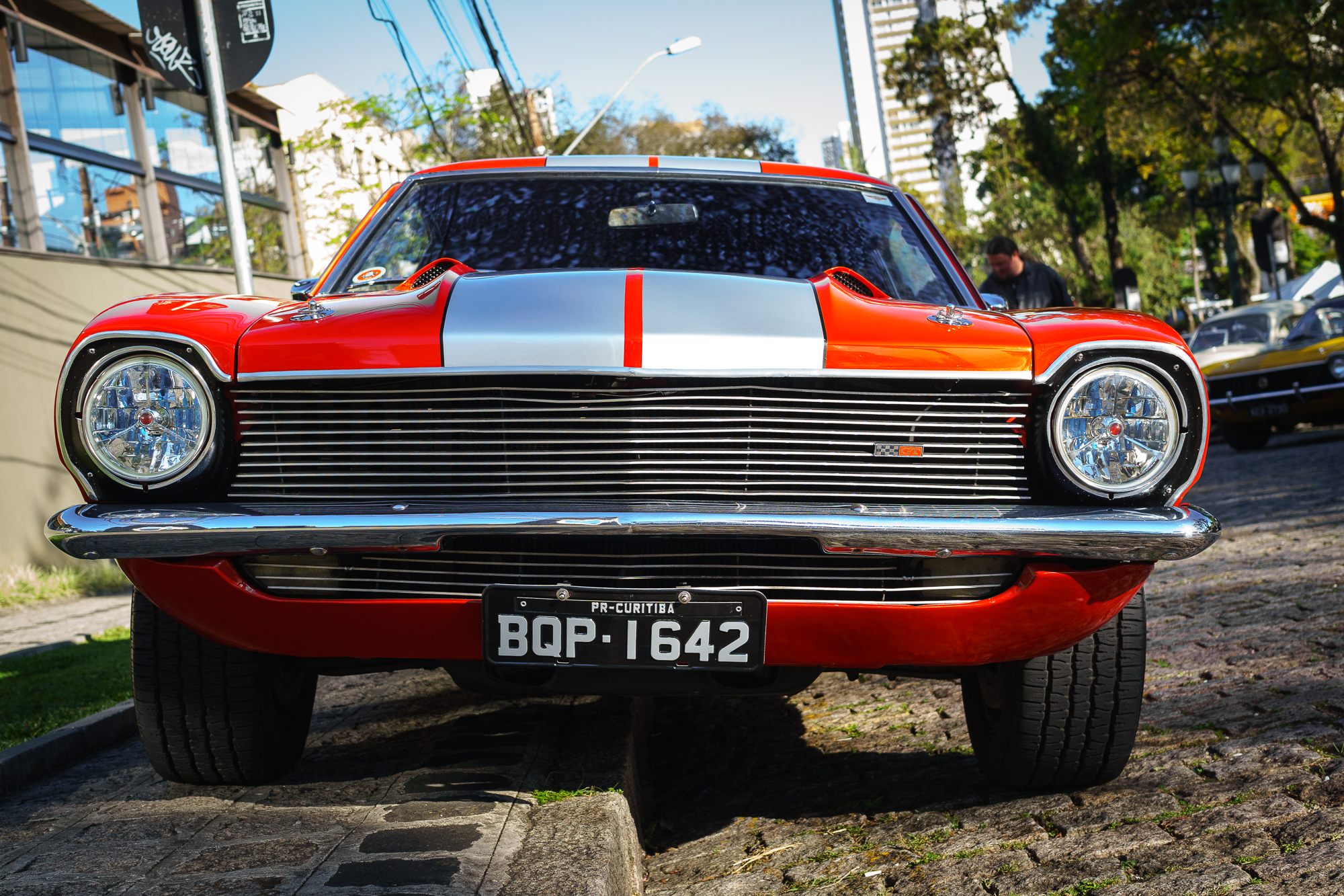 Ford Mustang in on a Street