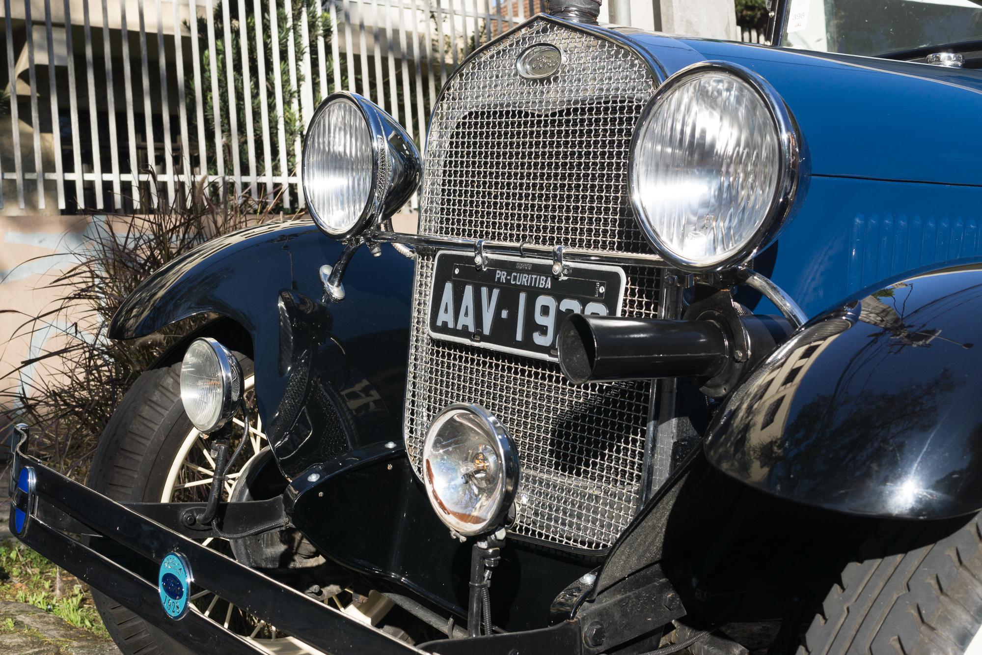 A pre-world war 2 model car