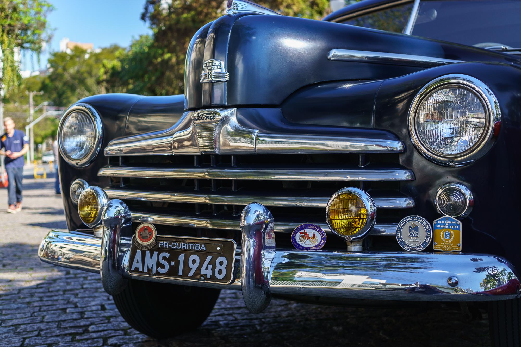 Vintage Ford Truck, black