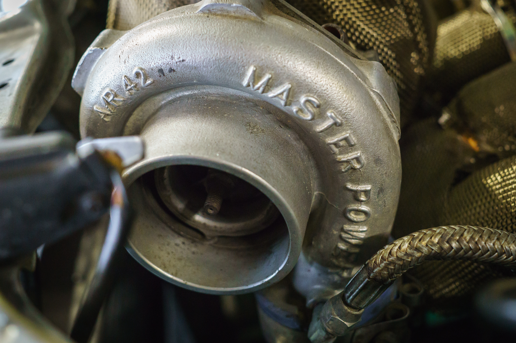 A turbocharger without a filter