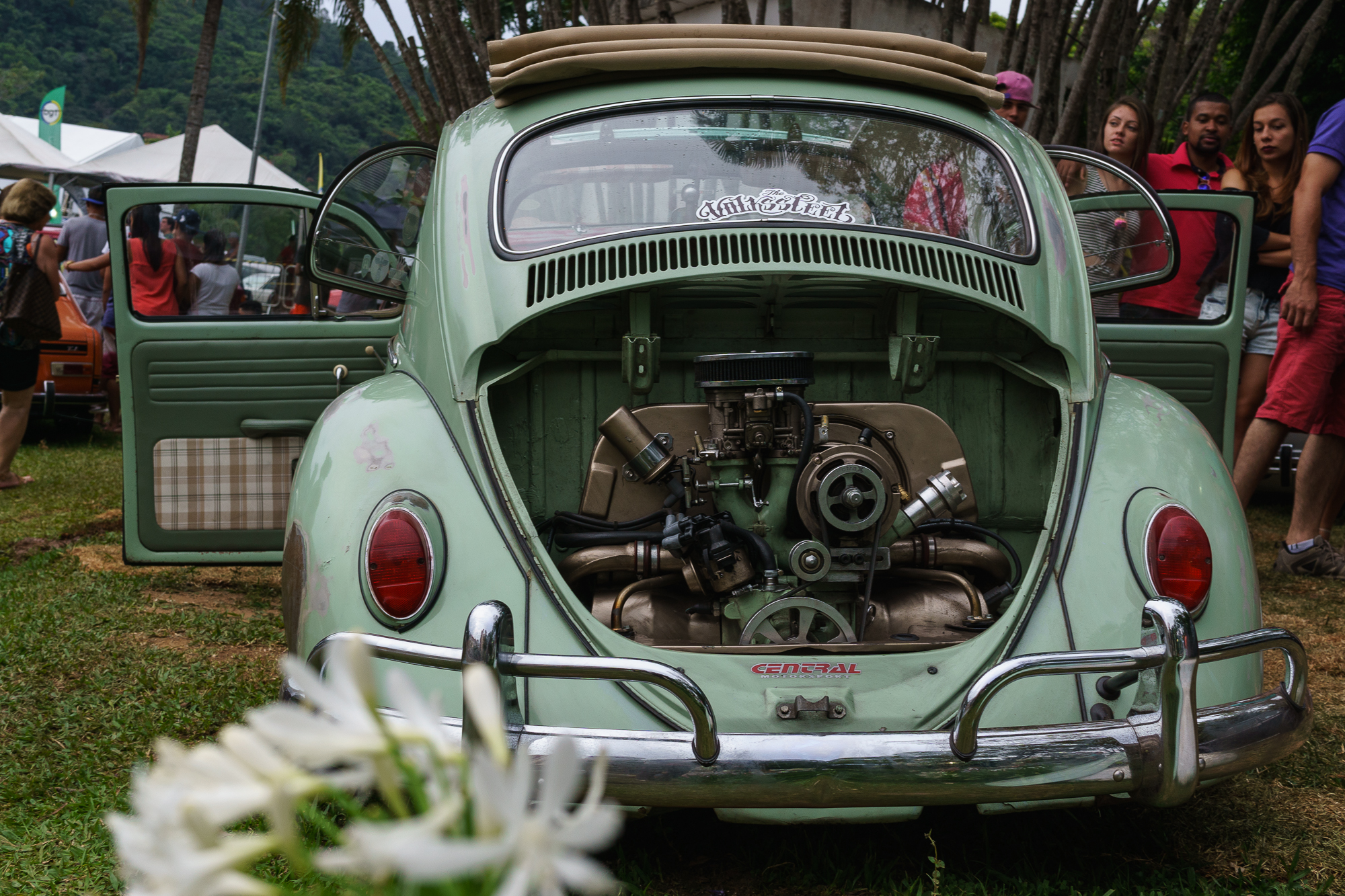 Fusca with Flower