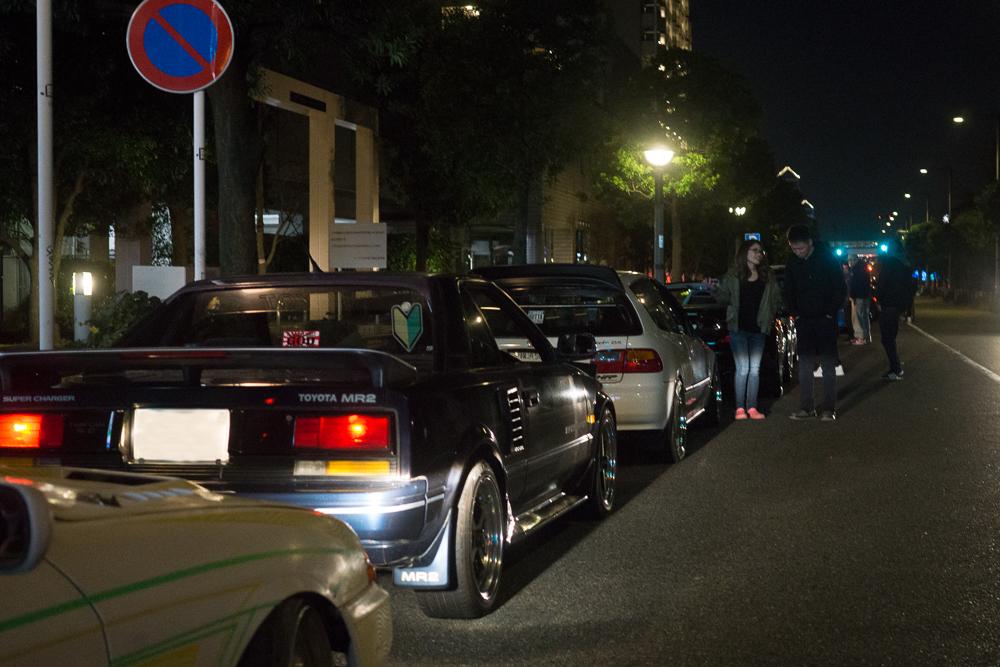 Line Outside Fresh Tokyo Car Meet