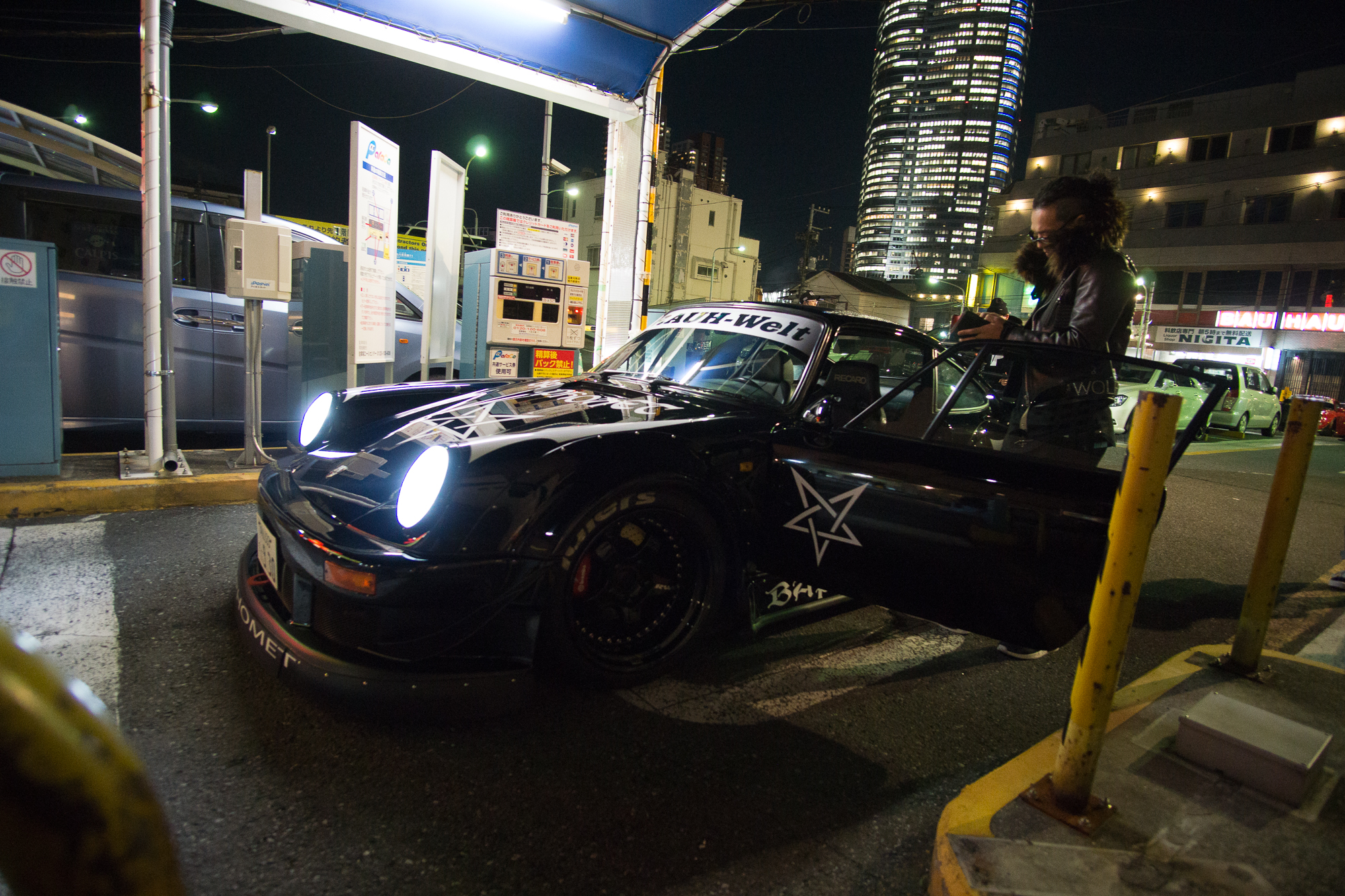 RWB modified car