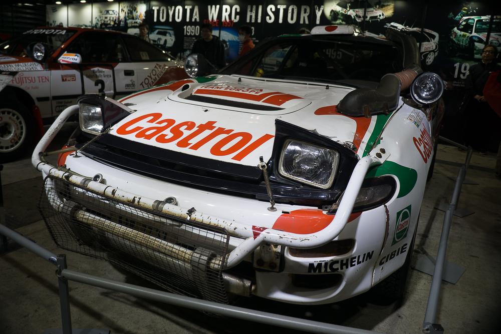 Cheating WRC Toyota Tokyo Auto Salon