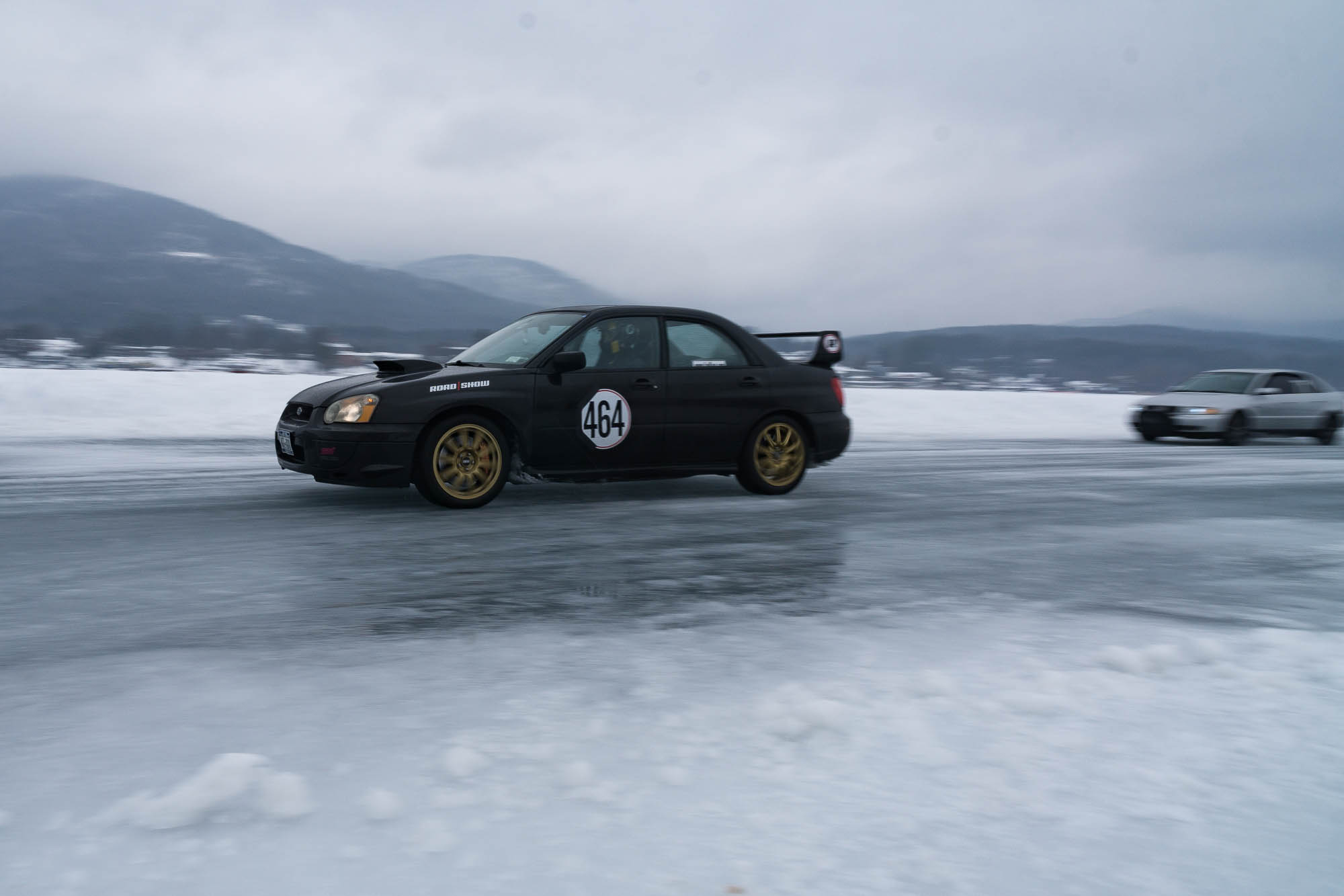 Subaru WRX STi Ice Races