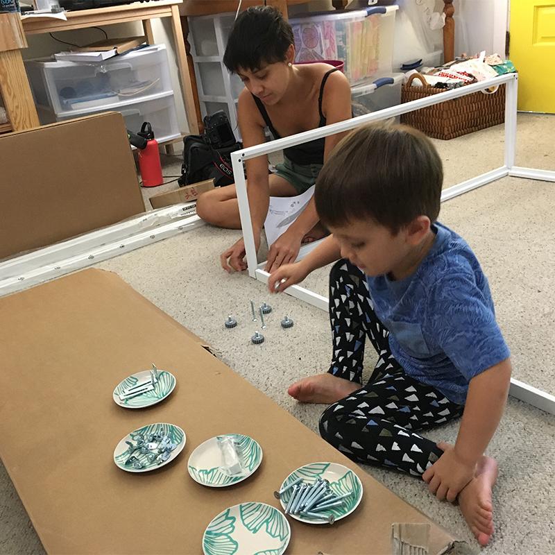 Jana Lam's Lyon Helping with the Honolulu, Hawaii Studio Redo