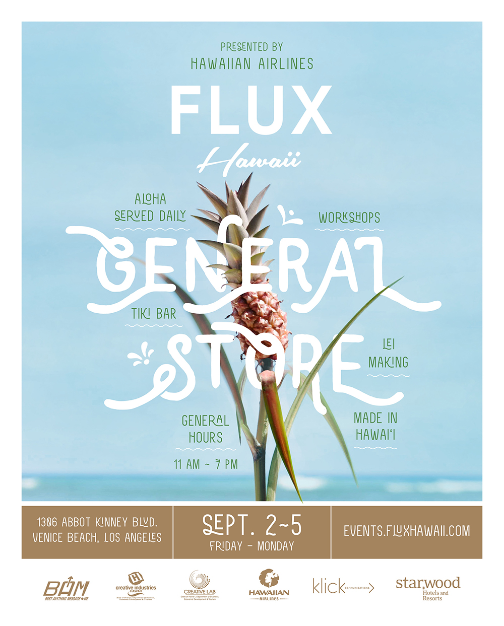 Jana Lam featured at Flux Hawaii General Store in Venice, CA