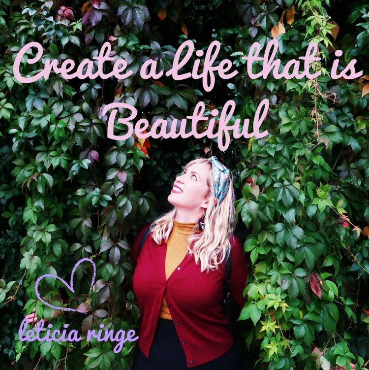 Interview on the Create a Life that is Beautiful Podcast with Leticia Ringe, a podcast to inspire, empower and support you on the journey of uncovering your purpose and truth in the world.  Click to listen.