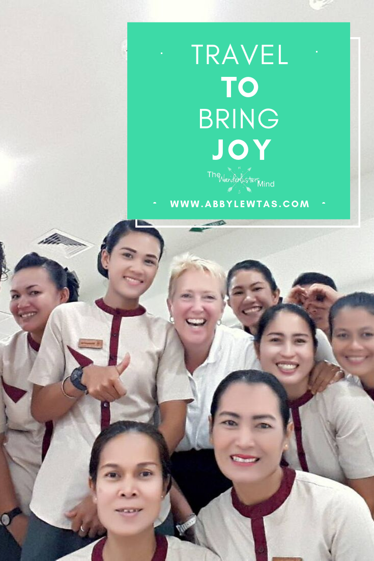 Travel to bring joy