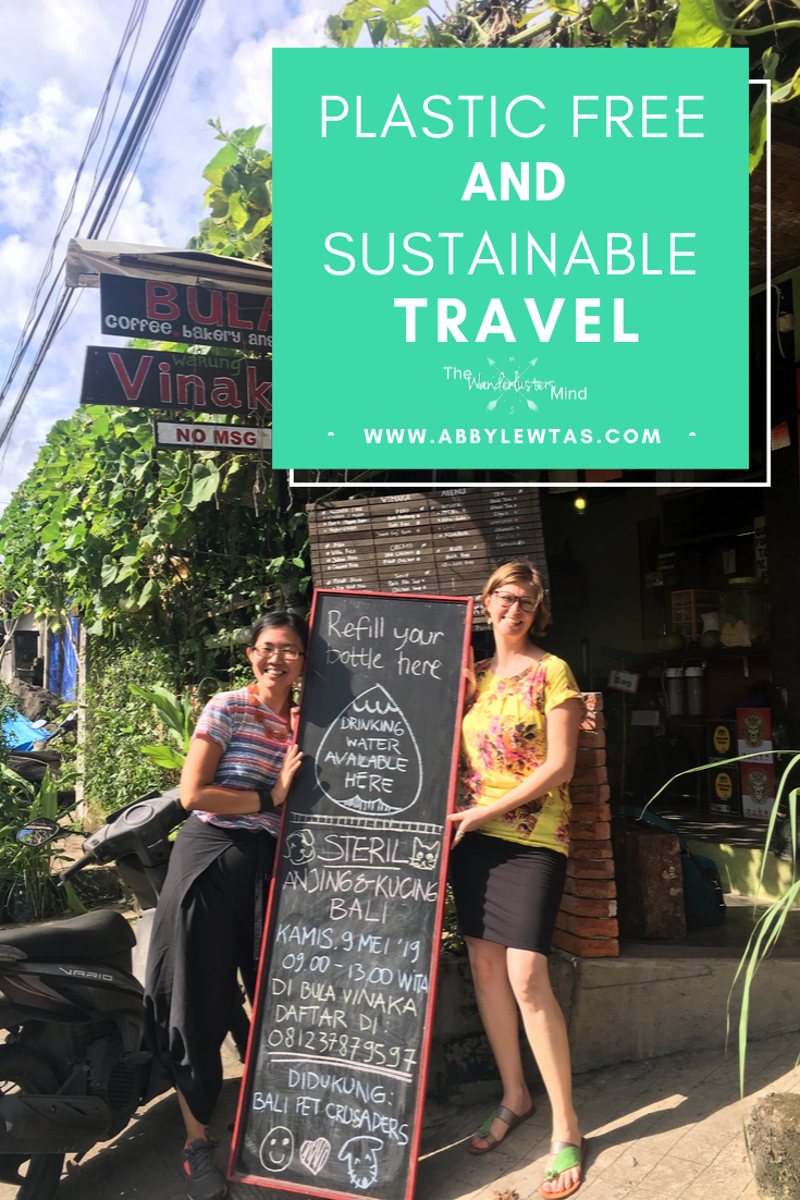 Sustainable and plastic free travel