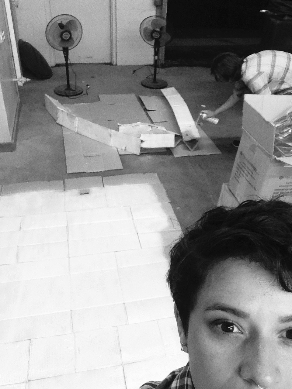 Production design department selfie.