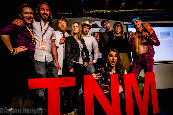 The cast of TNM Talks; a TED-Talk parody I directed (nominated for best improv show in Austin 2011-12)