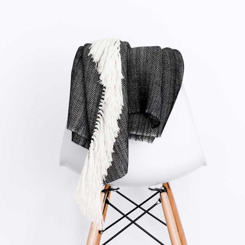 Noche Blanket  - $275 - 100% baby alpaca wool - Takes several weeks to complete - hypoallergenic. HEART EYES! DROOL CHIN!