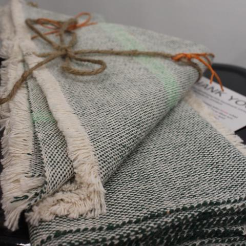 Placemat and Nakin Gift Set  - $85 on sale, $90 usually - woven in Nicaragua of 100% eco-dyed cotton