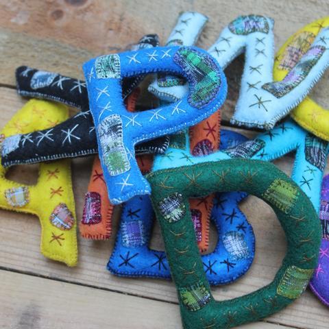 Letras Handmade Alphabet  - $70