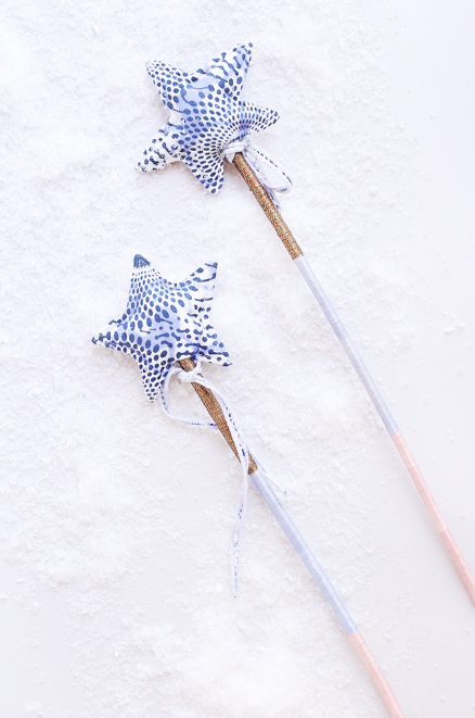 Magic Wand  - $20 - woven sweetgrass stick and cotton star - so sweet!