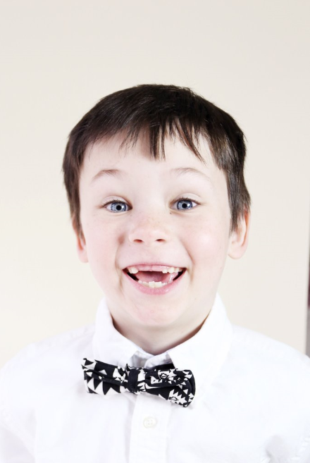 Boys Bowtie  - $20 on sale - look how happy this bowtie makes him!