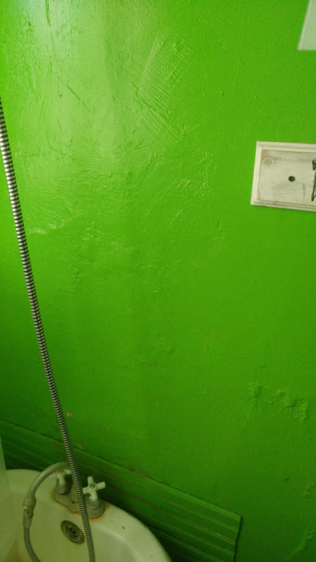 These old wavy plaster walls had to go.