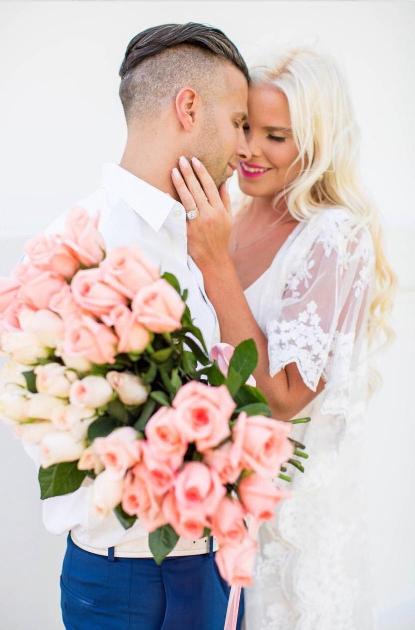 Caroline Doll Engagement Photo 1