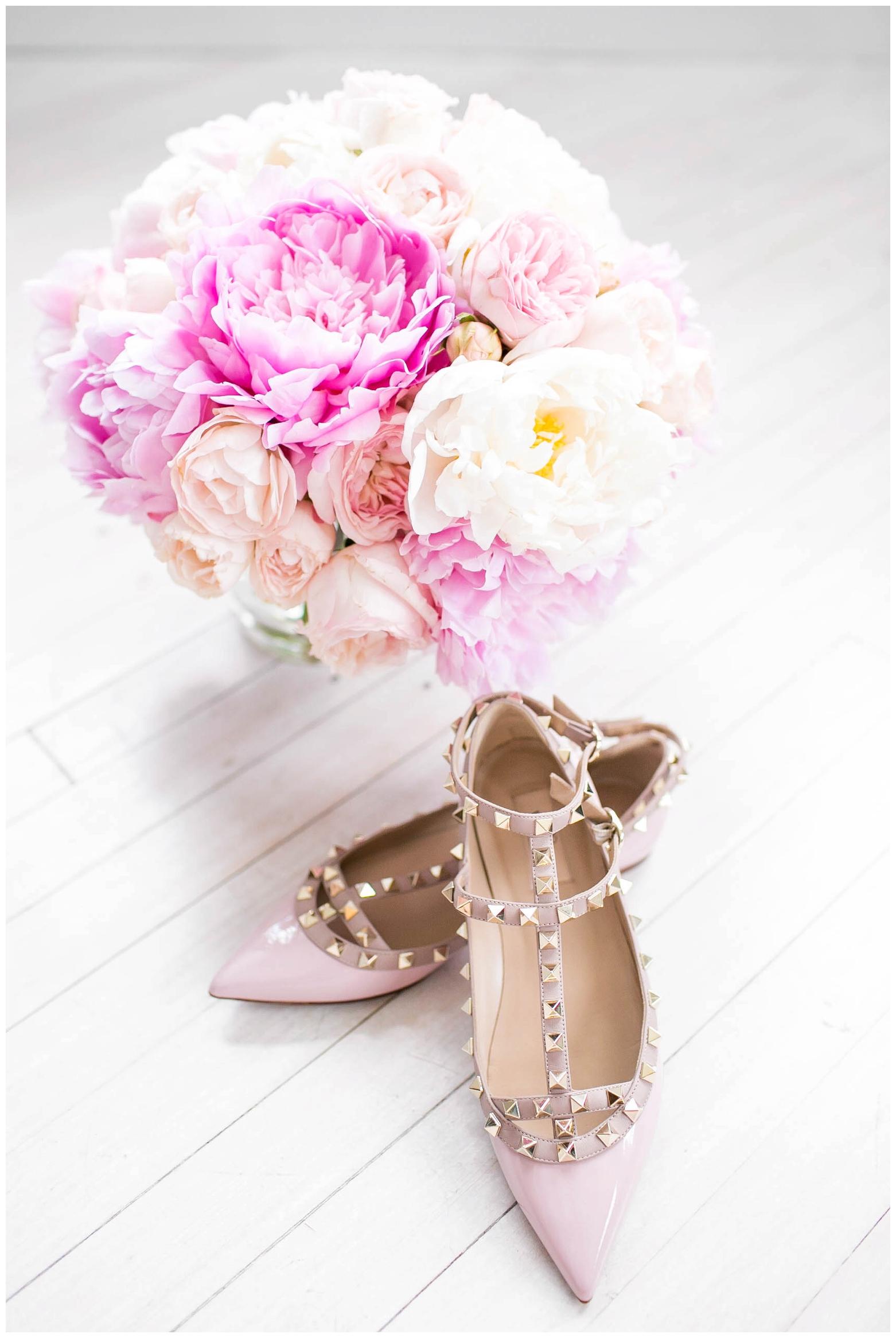 The Caroline Doll Wedding Shoes