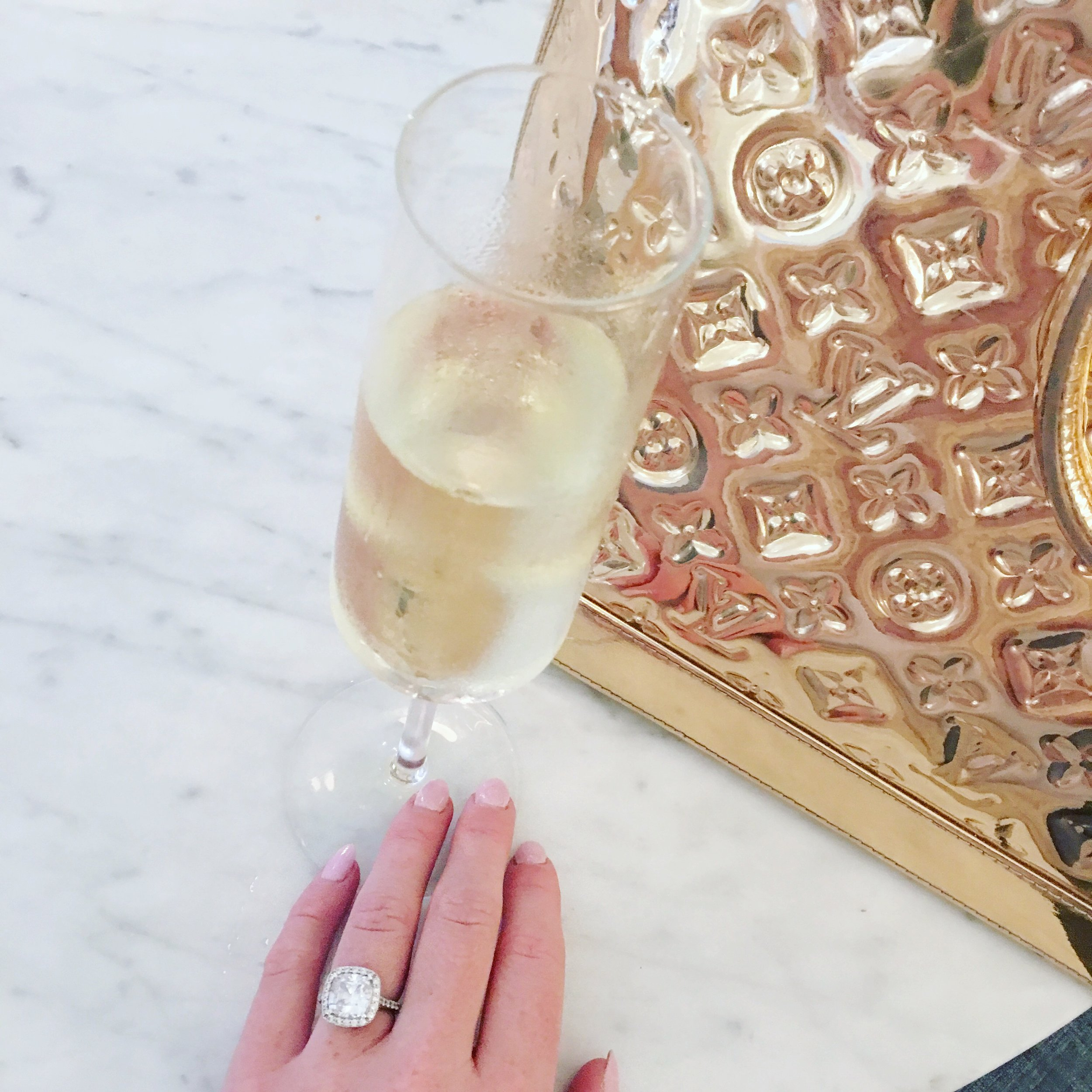 Champagne Is Always The Answer®, especially at Quirk!
