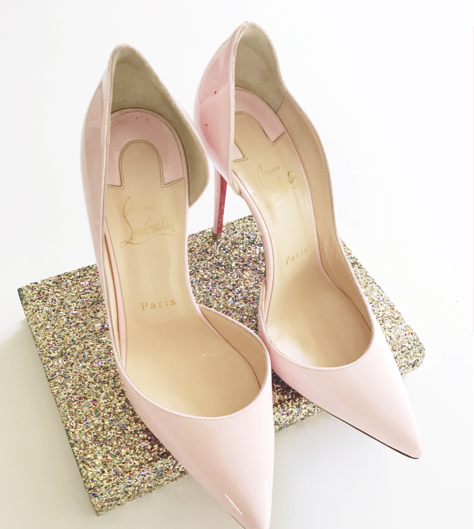 CHRISTIAN LOUBOUTIN - Every luxury-designer-fashion-loving doll should have a pair of Christian Louboutin's. My only pet-peeve? Scuffing the iconic red soles! Regardless, this is a classic and timeless shoe that comes in a variety of colors. Obviously, I HAD to go with PINK!