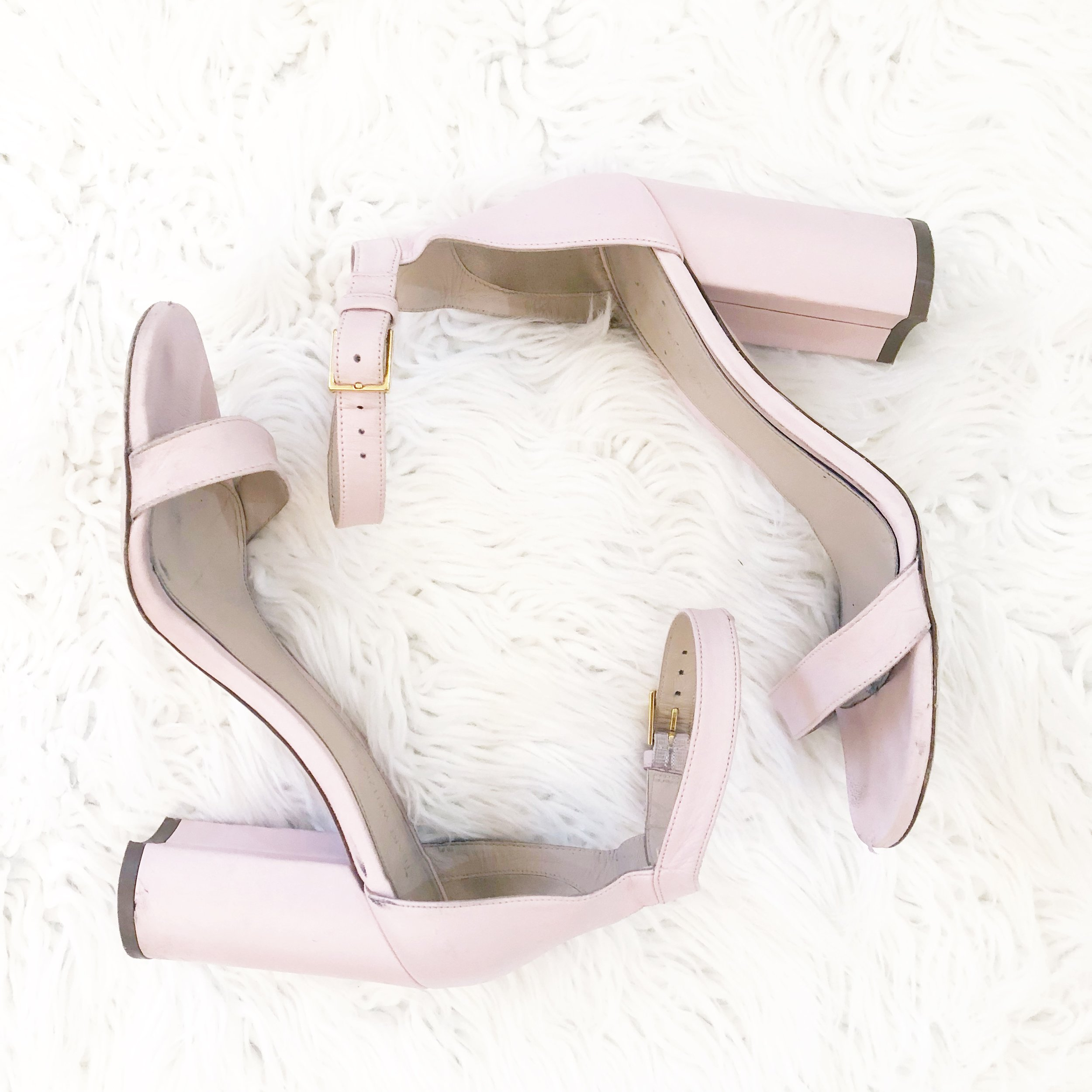 STUART WEITZMAN - My fancy sandal that goes with every look. I wear it with anything from a t-shirt and jeans to a maxi dress! Feminine and chic, I will always think of any shoe by Stuart Weitzman as iconic and classic!