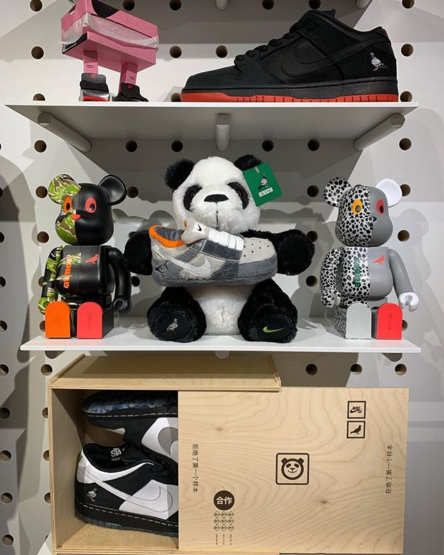 Wanna add this 🐼 to your trophy wall? Better check @staplepigeon quick💨