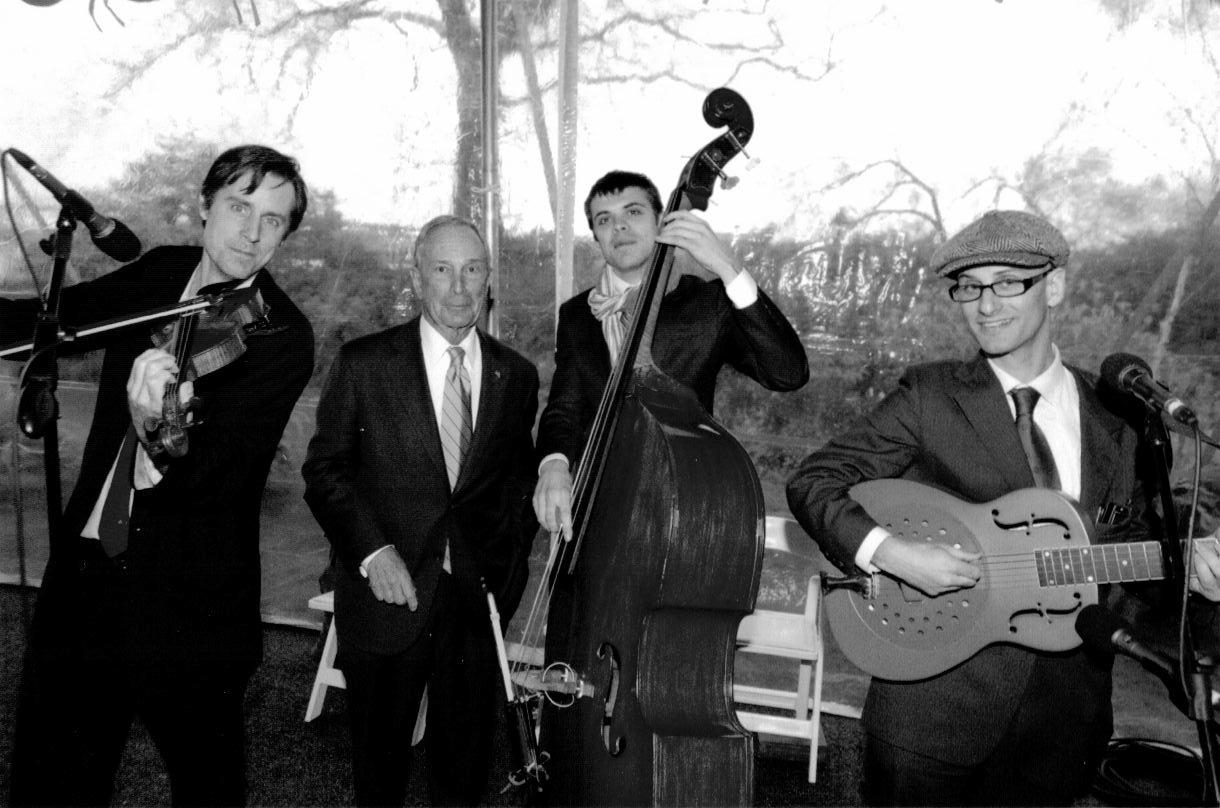 Mayor Michael Bloomberg and The Milkman & Sons - Black & White.jpeg