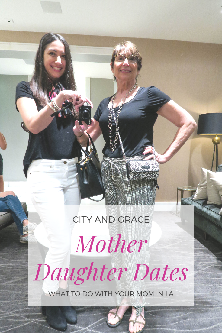 Mother Daughter in LA