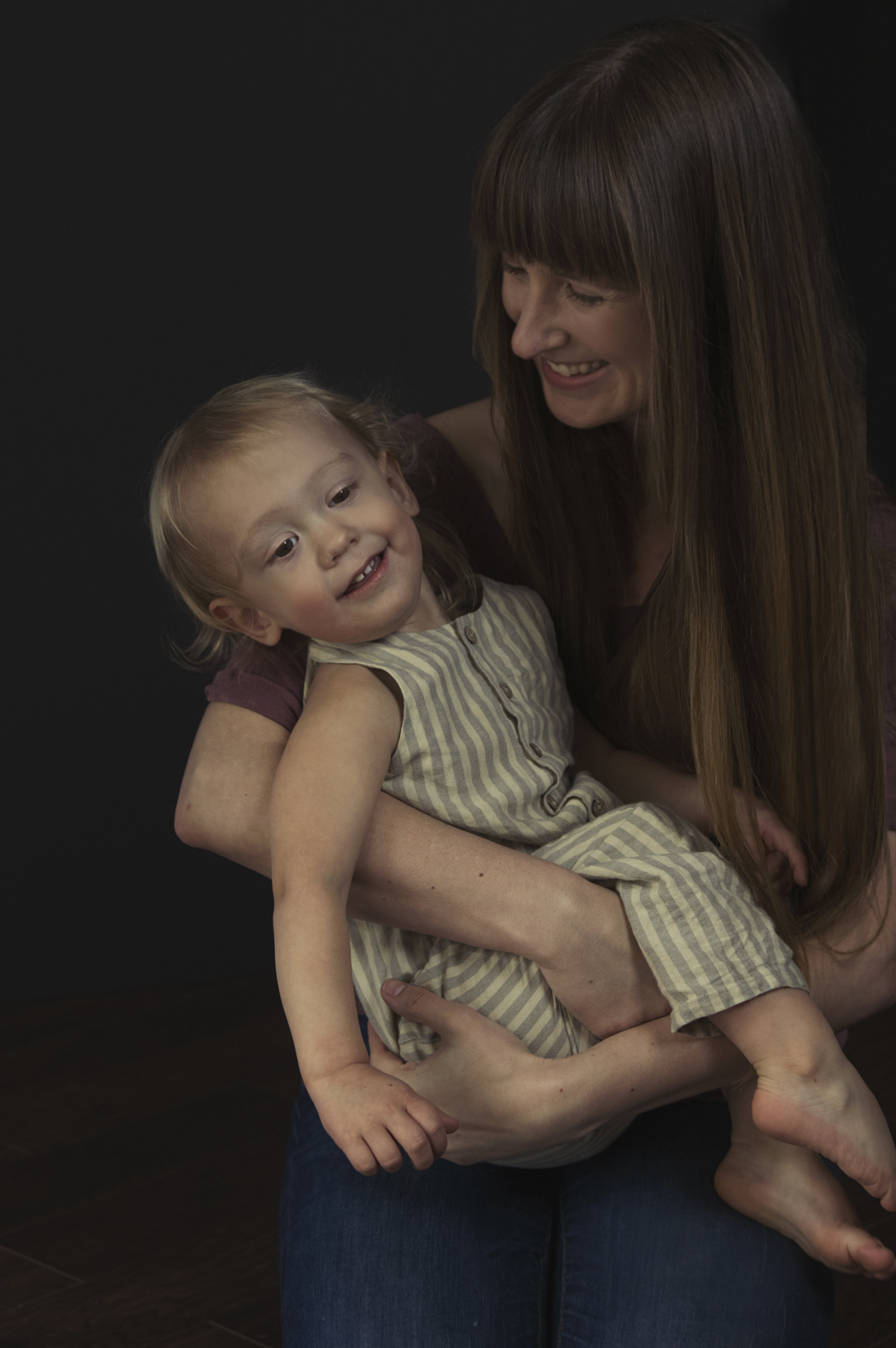 Heirloom Portrait Photographer | Mother and Son | Mothers Day Portrait | Jackie Daily Photography