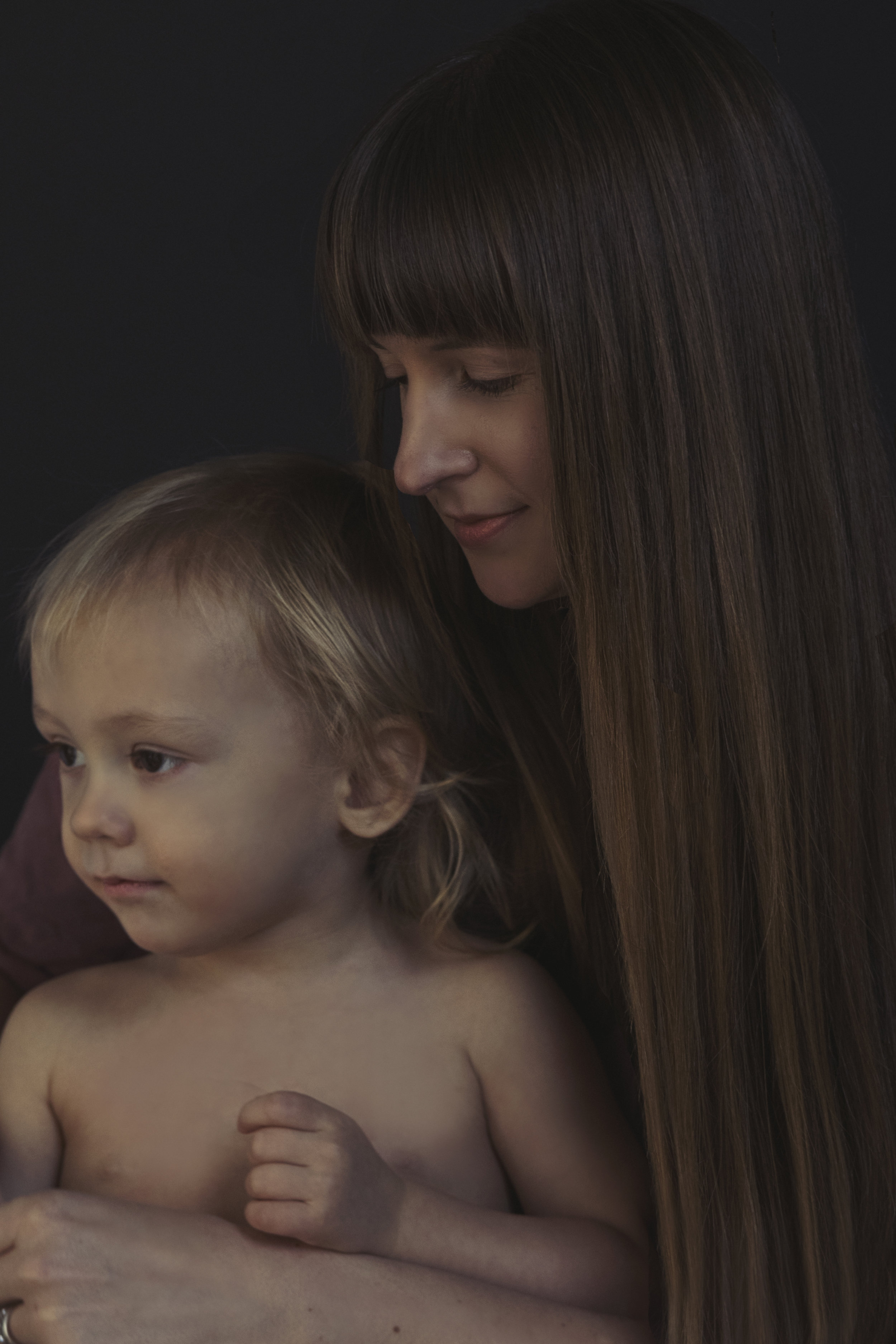 Heirloom Portrait Photographer | Mother and Son Portrait | Jackie Daily