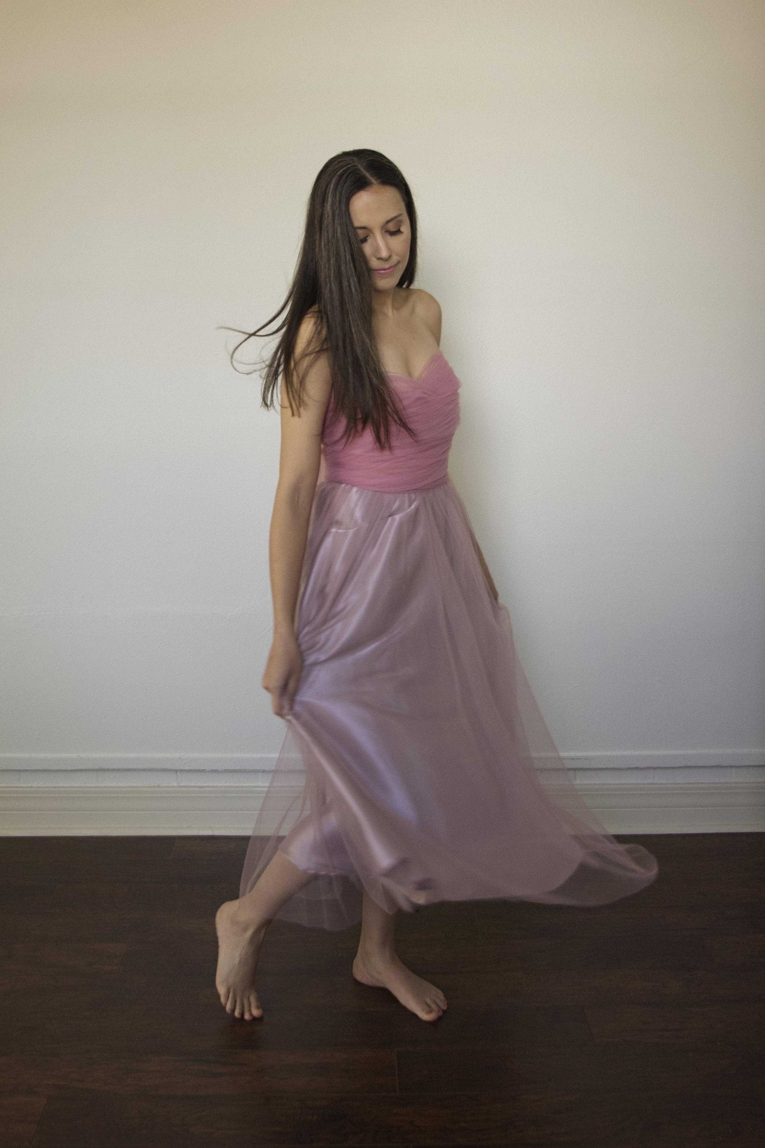 Portrait of a Woman Dancing