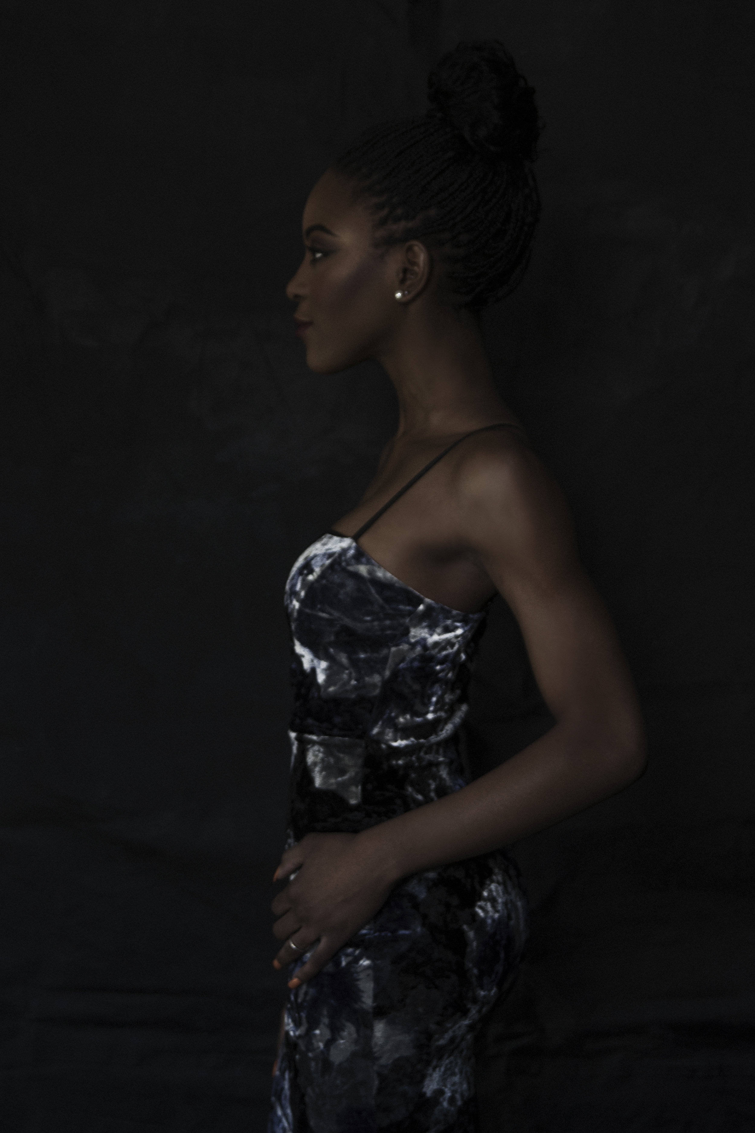 Side Shot of a woman