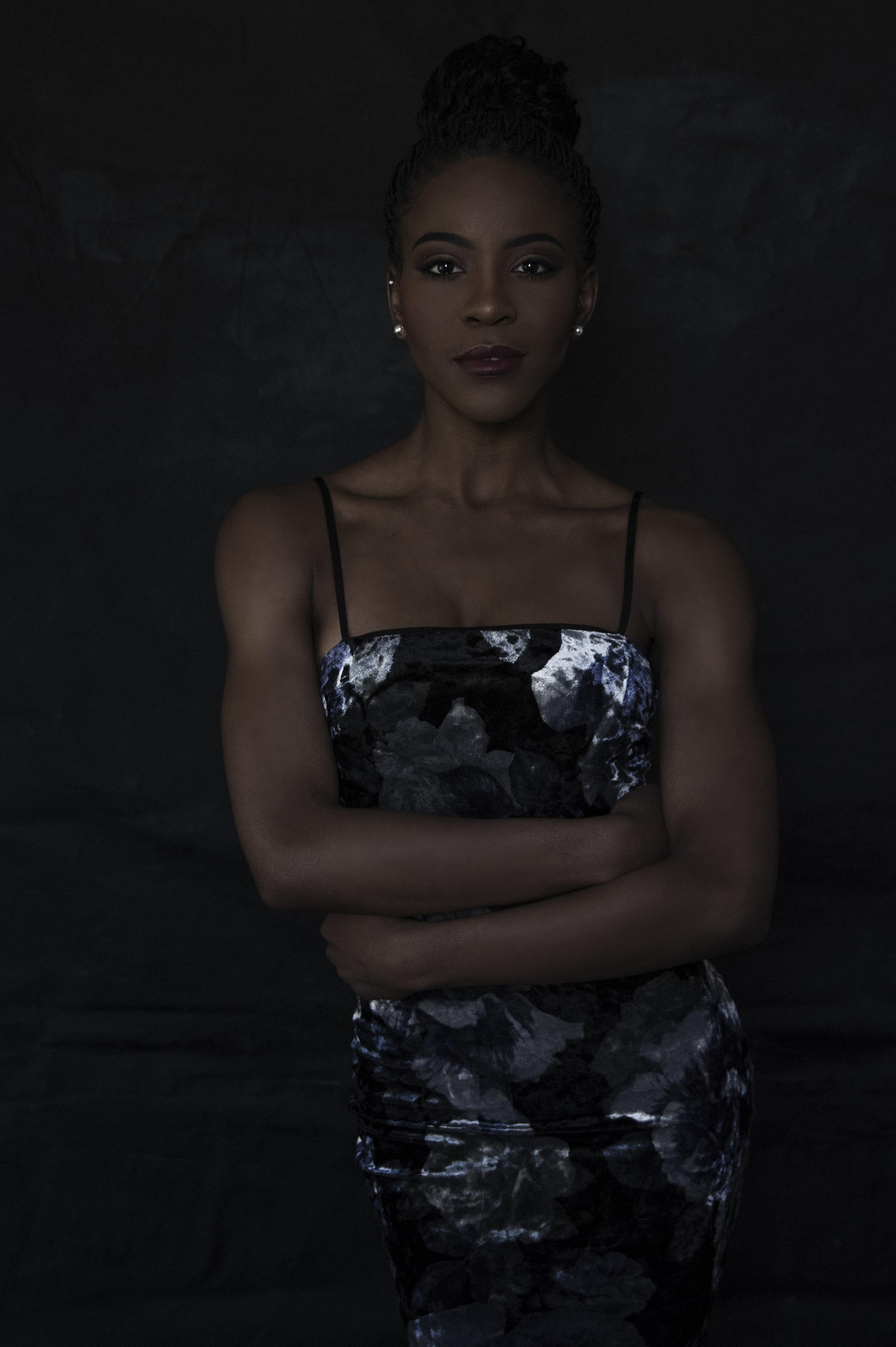 Dark Magazine Style Portrait