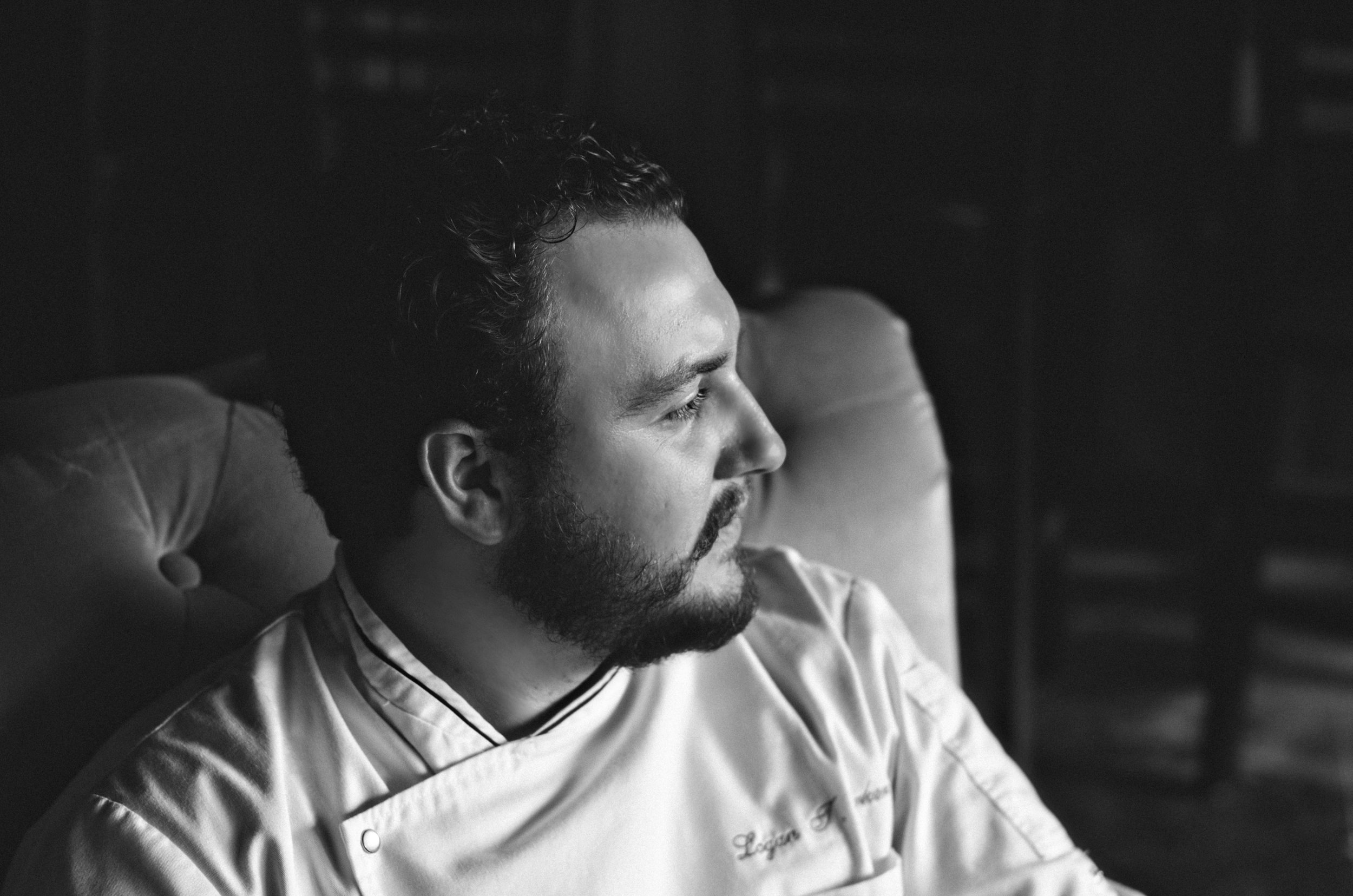 Pensive Chef Logan