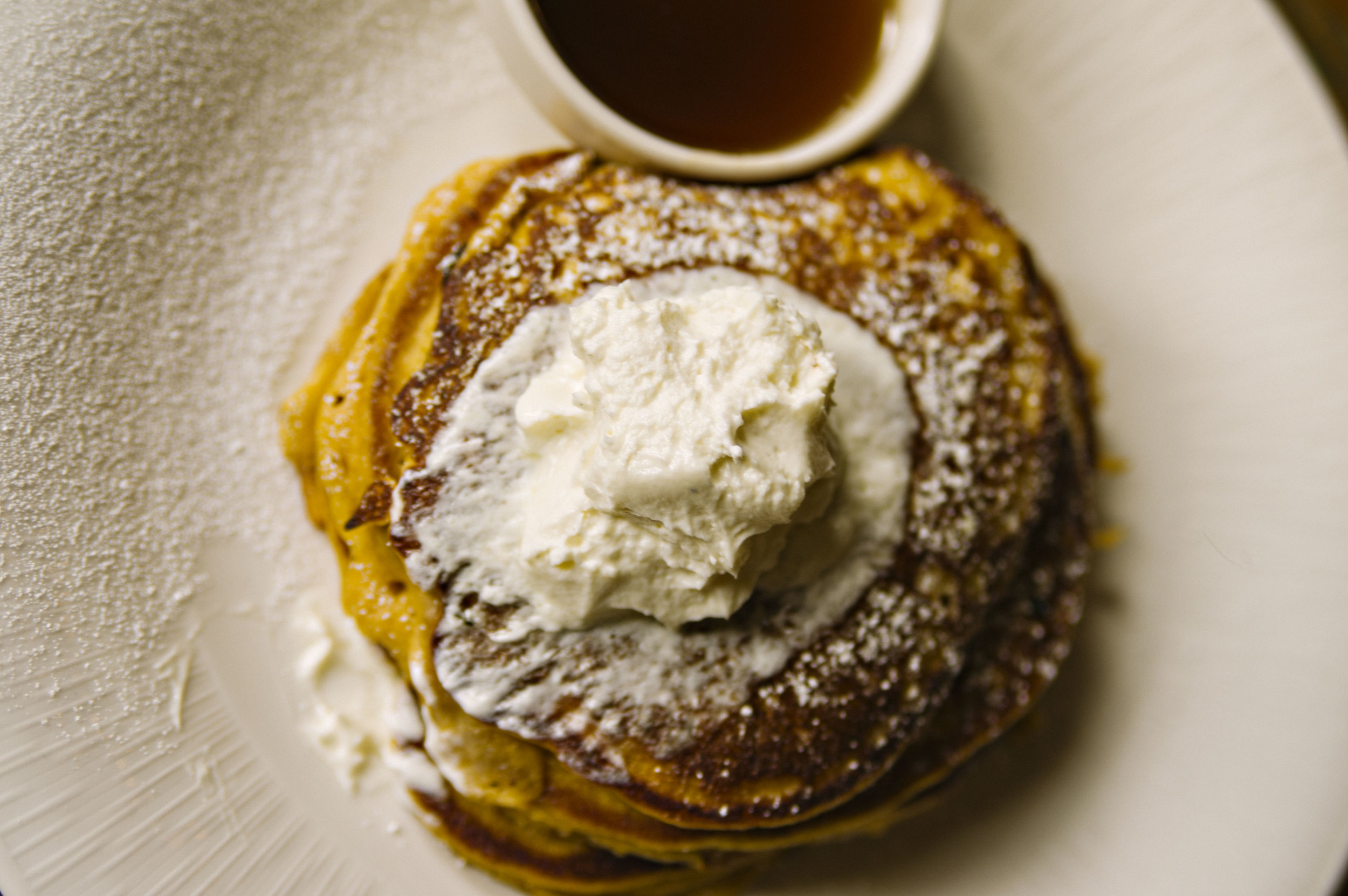 Ricotta Pancakes at Bayou Roux