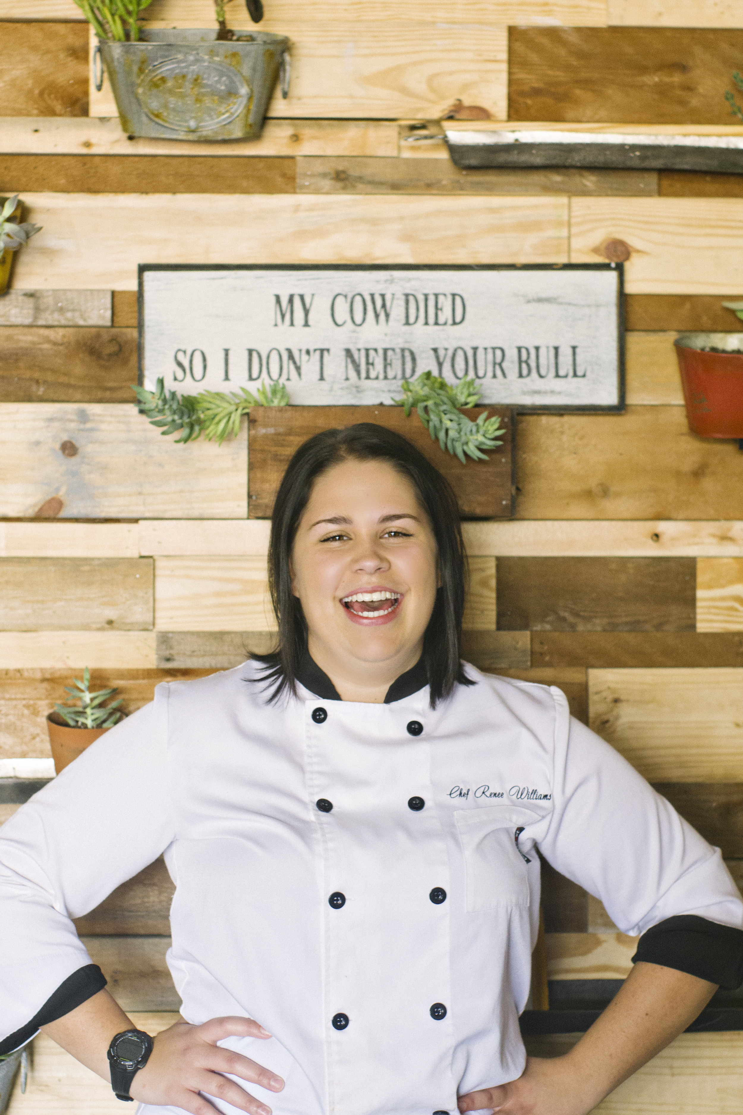Renee Williams Chef at Bayou Roux