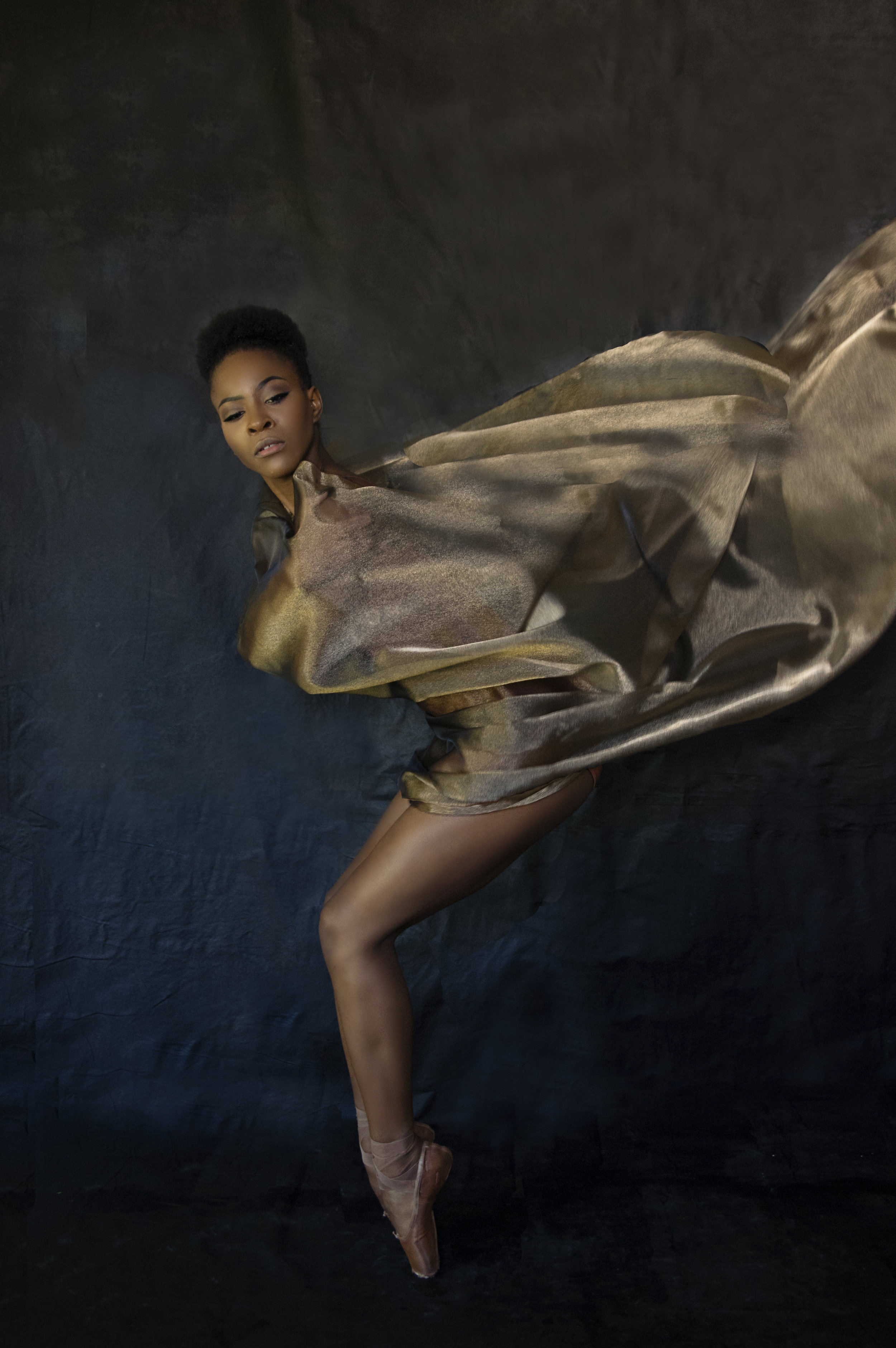 Portrait of a strong dancer
