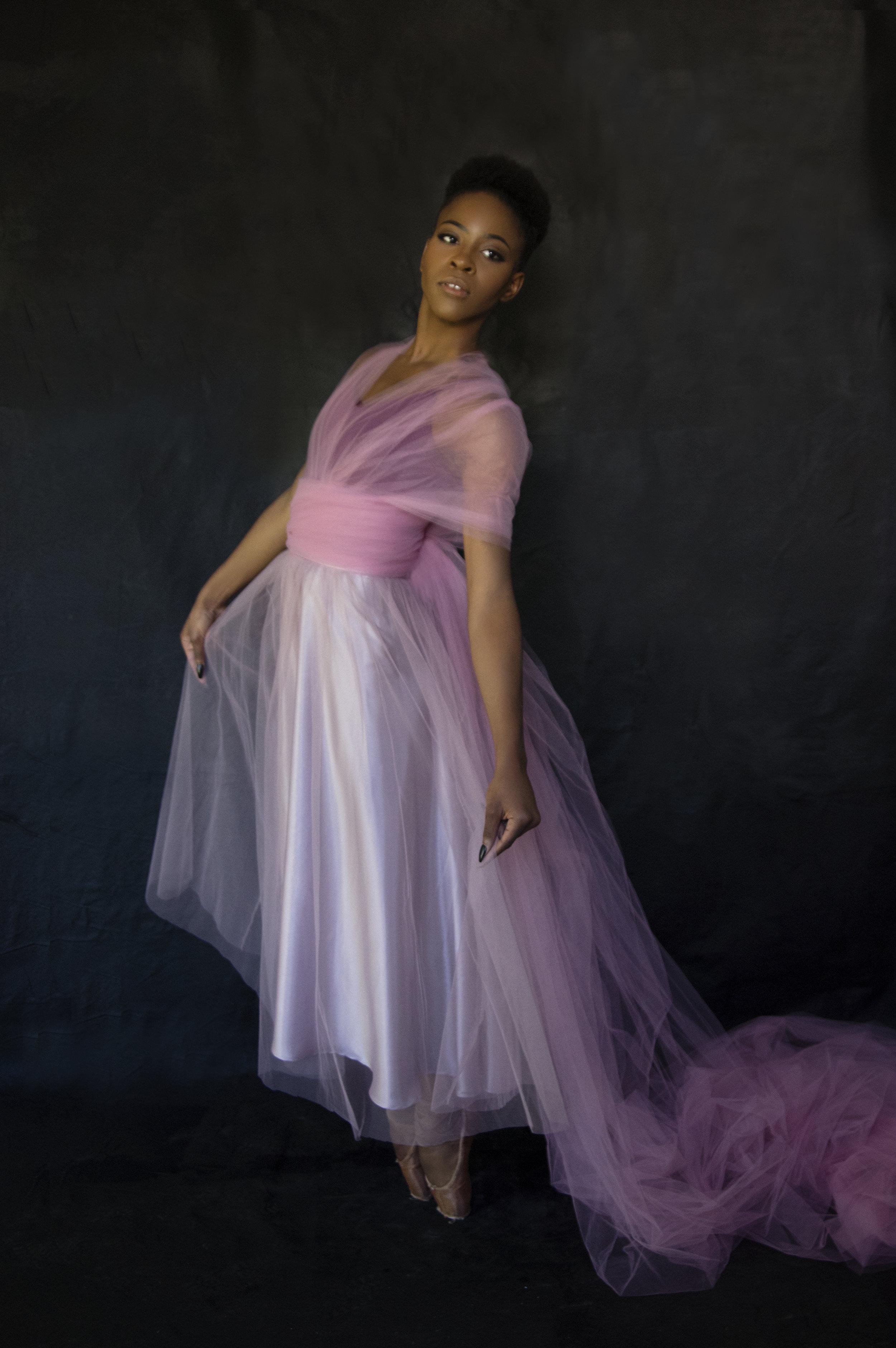 Heirloom Portrait of a Dancer